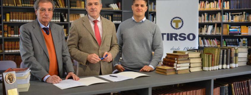 Grupo Tirso renueva su patrocinio al Ateneo de Santander