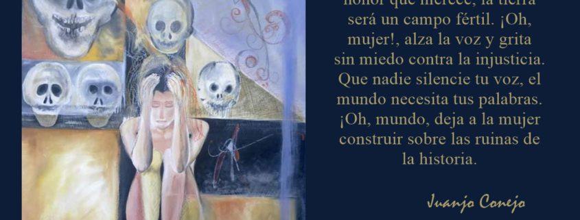 Contra la violencia de género. Juanjo Conejo